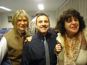 Con la escritora Marga Clark