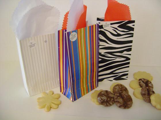 saquinhos papel biscoitos