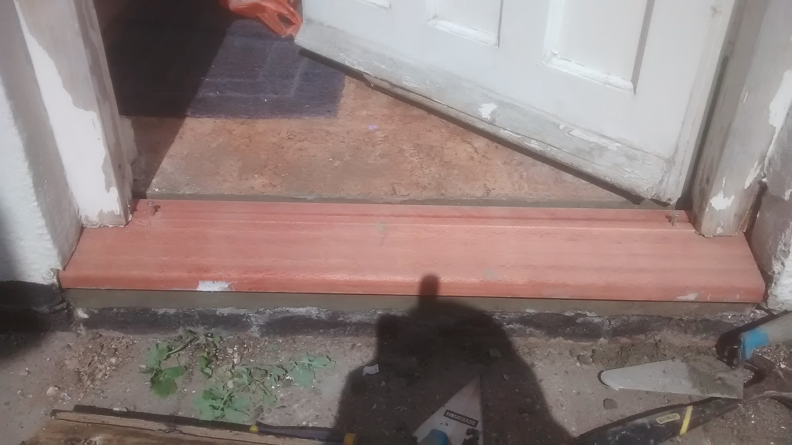 New cill & West Property Maintenance: Replacing A Rotten Door Cill