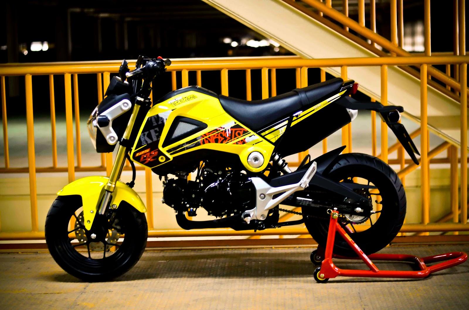 Honda MSX 125 Secret Weapon