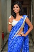 Bindhu latest sizzling saree pics-thumbnail-2