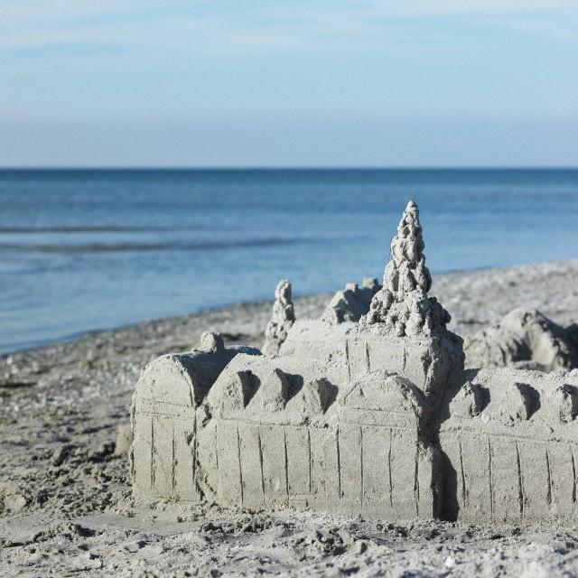 Una playa escondida