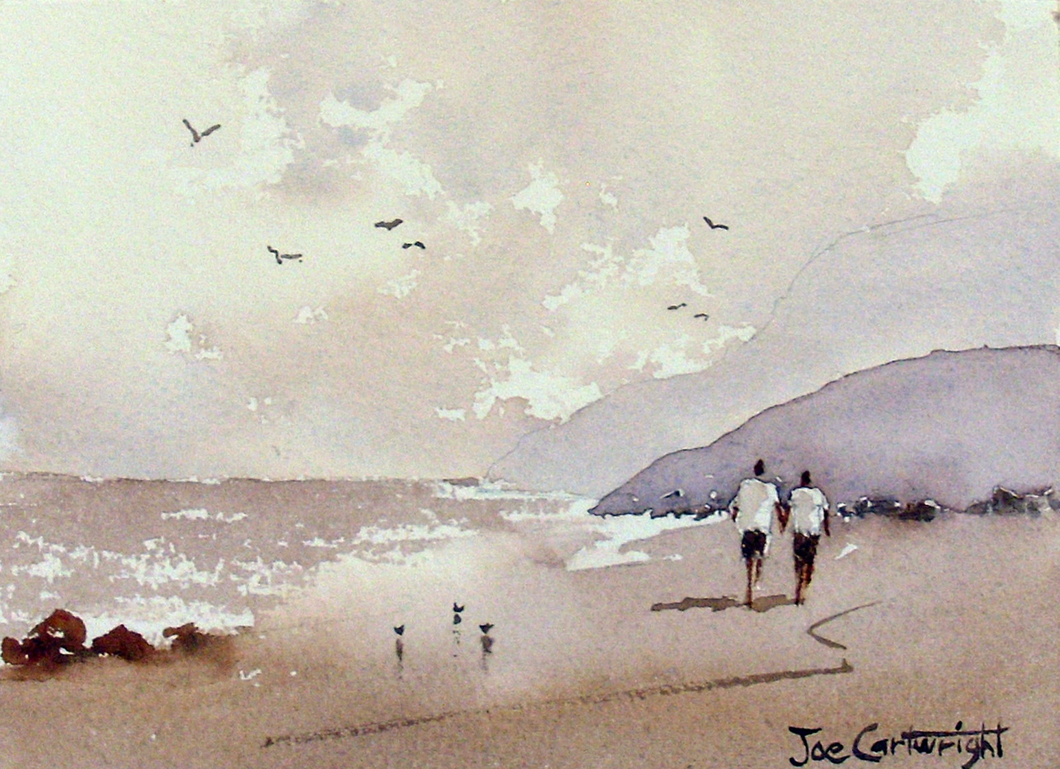Joe cartwright 39 s watercolor blog august 2011 for Watercolor painting step by step