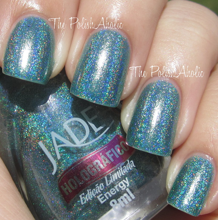 The PolishAholic: Jade Holographics!