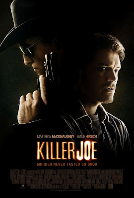 Killer Joe, Hirsch, McConaughey, Juno Temple, Friedkin