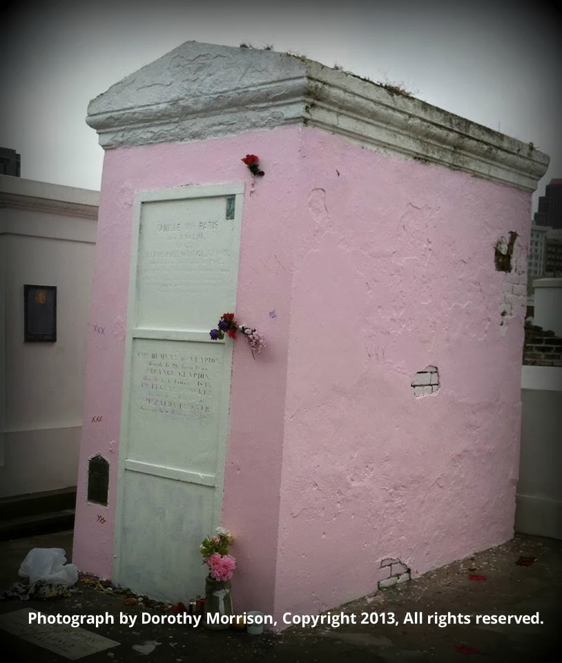 Creole Moon: Marie Laveaux's Pink Tomb: Vandalism or Devotion?