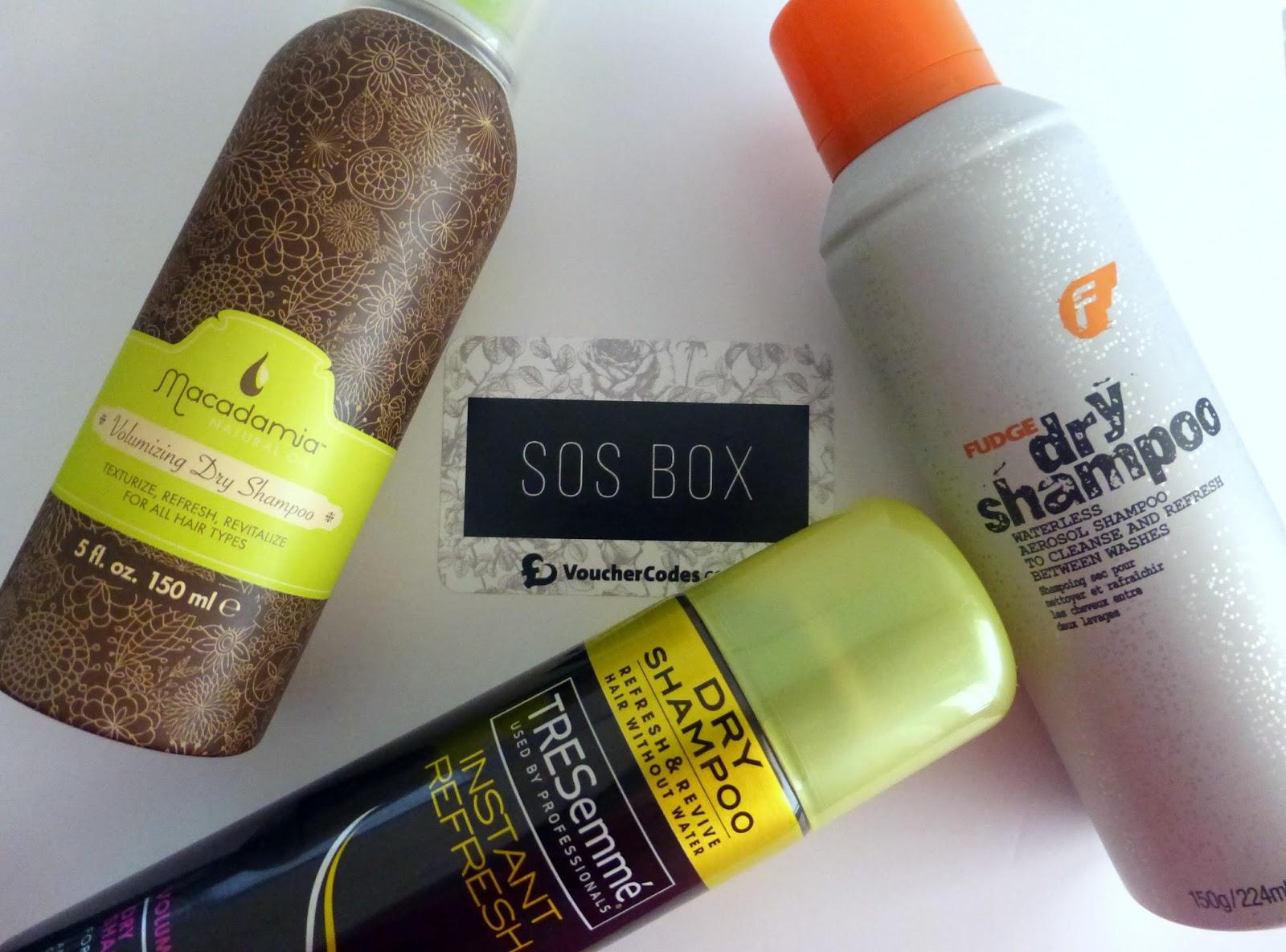 dry shampoo, tresemma, fudge, macadamia