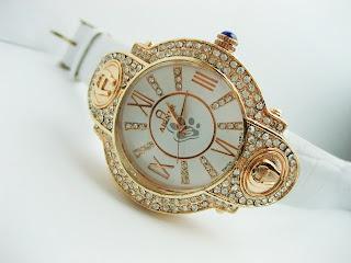 Jam Tangan Aigner | Wanita | Kulit | Diamond | Mewah | Keren