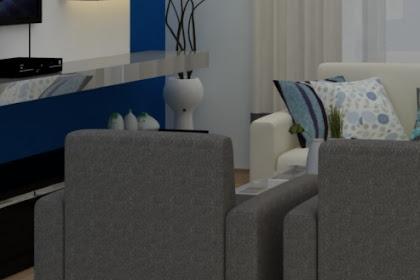 Jasa Desain Ruang Keluarga modern minimalis, Ruang Tamu, Ruang Santai