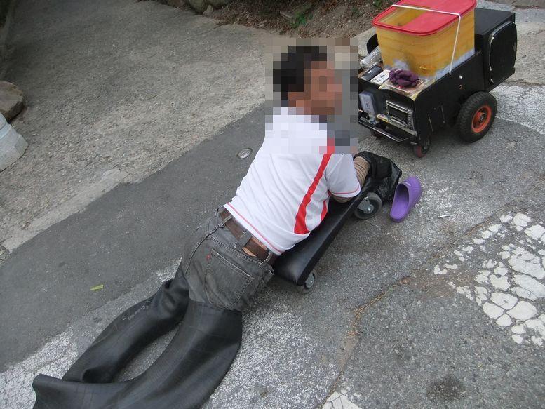 よどがわ日記(新): 韓国で見た物乞いをする人たち