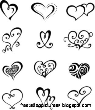 Small Heart Tattoos on Pinterest  Heart Wrist Tattoos Little