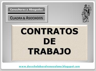 CONTRATO DE TRABAJOS