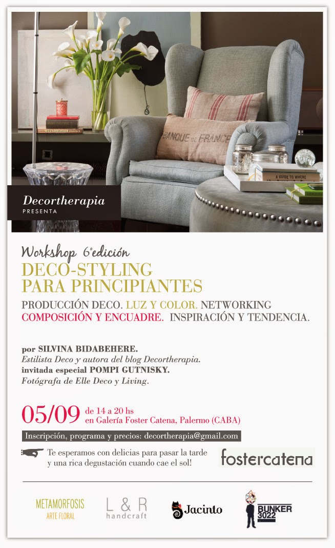 WORKSHOP DECO STYLING