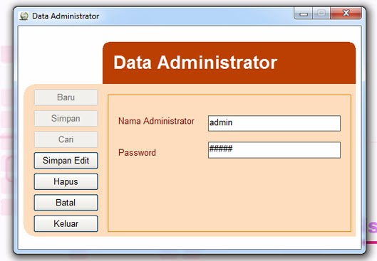 form data administrator