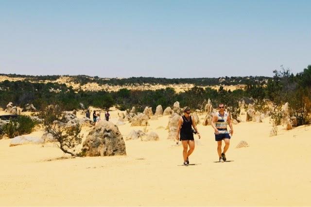 The Pinnacles (Nambung National Park) @ Cervantes, Perth, Western Australia 尖峰石陣 (南本國家公園) 澳洲澳大利亞西澳