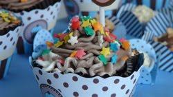 CUP CAKE DE BRIGADEIRO