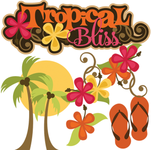 Tropical Bliss cut file set by Miss Kate Cuttables