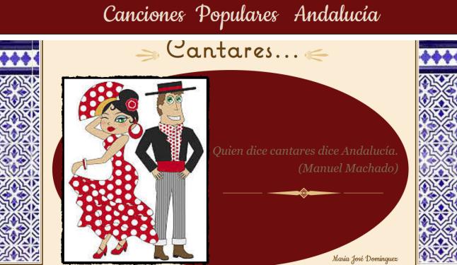 Canciones Populares Andalucía