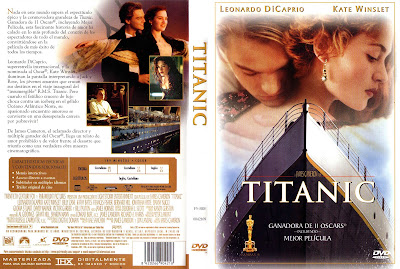 Carátula dvd: Titanic 1997