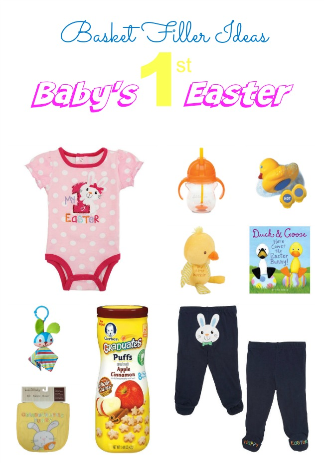 Babys first easter basket filler ideas outnumbered 3 to 1 easter is just a week and a half away and ive got to say its one of my personal favorite holidays from the egg hunts to the food and family negle Gallery