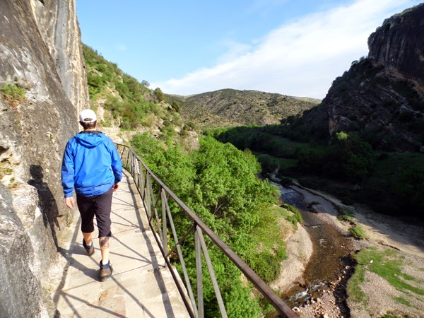 Caminando desde el Pontón de la Oliva hasta la Presa de Navarejos