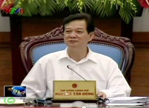 Thủ tướng Nguyễn Tấn Dũng chủ trì một phiên họp