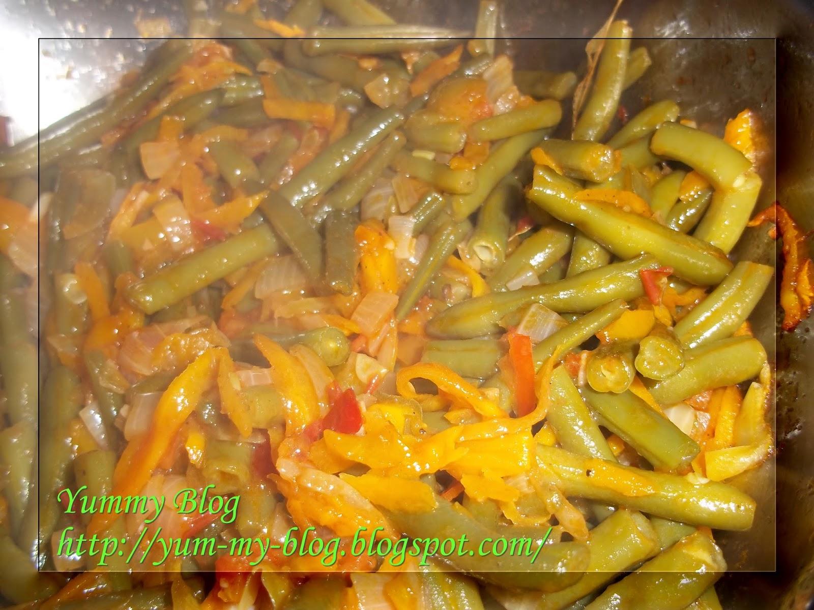 Замороженная стручковая фасоль рецепты пошагово
