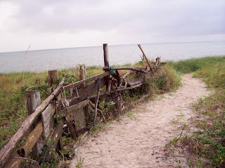 Ocracoke Island, North Carolina - the beach and waters off Springer's Point.  The former haunt of Blackbeard the Pirate known as Teach's Hole.