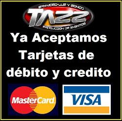 ya aceptamos tarjetas de credito