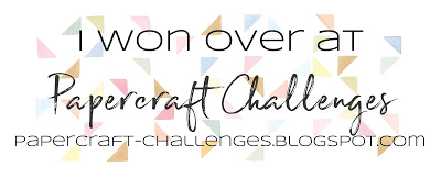 Papercraft Challenges Winner