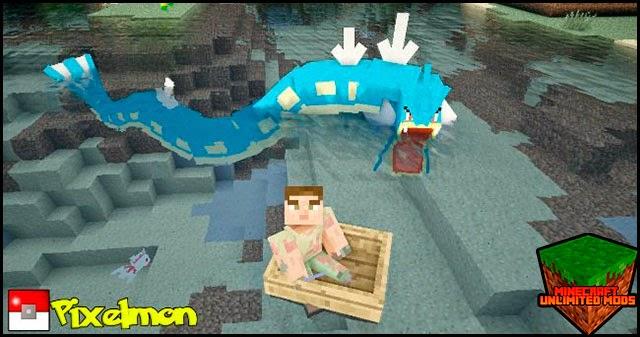 Pixelmon Mod pokemons minecraft