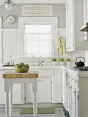 Decoration for small kitchens