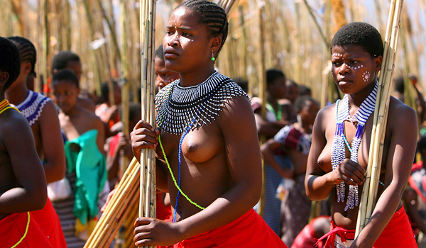 African Naked Zulu Girl