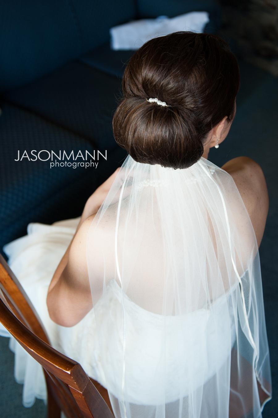 Jason Mann Photography - Door County Wedding Veil