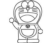 #5 Doraemon Coloring Page