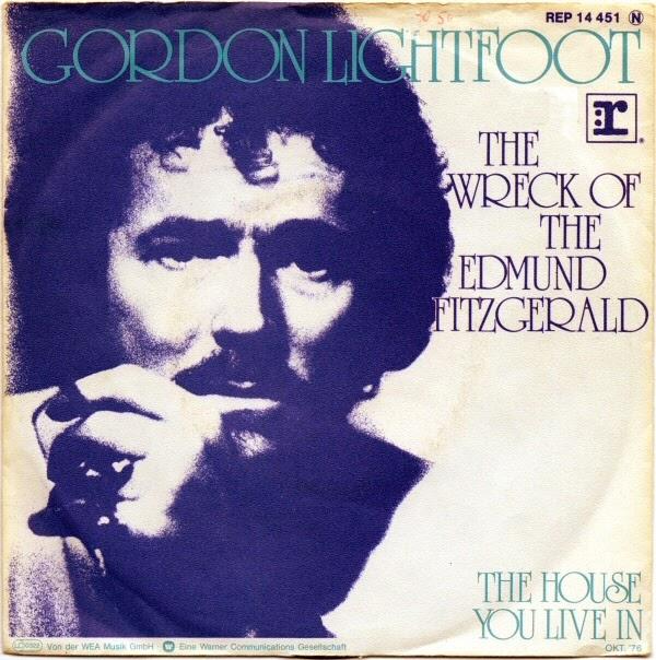 Gordon Lightfoot The Wreck of the Edmund Fitzgerald 1976