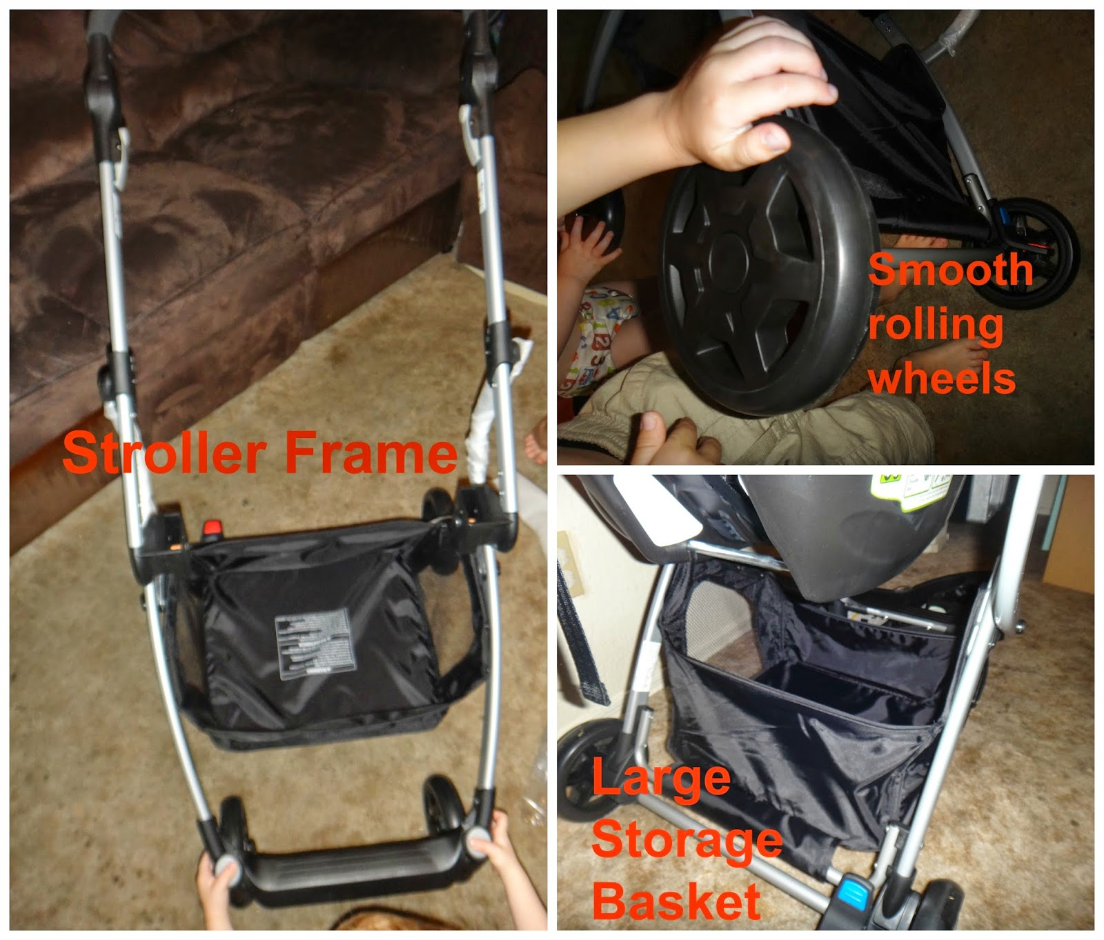The Car Seat Portion Was All In One And Ready To Go Stroller Itself Only Needed Be Folded Out Have Tires Added It So Simple