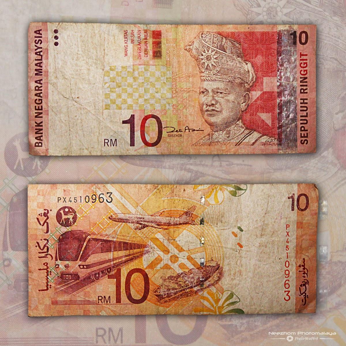 Duit kertas Malaysia 10 Ringgit siri ke 3