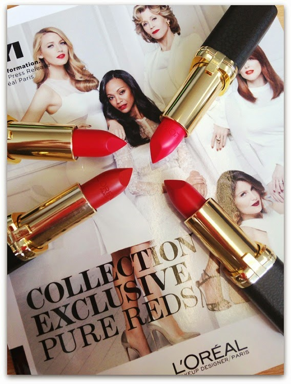 L'Oréal Paris Collection Exclusive Pure Reds Review