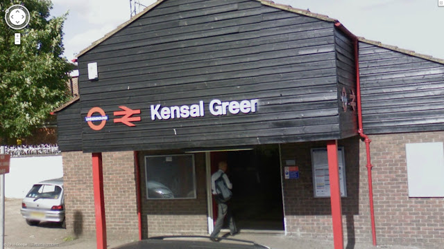 Kensal Green station on the Bakerloo line of the London Underground