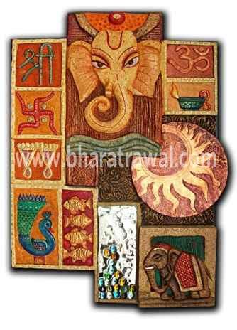 Mural art by muralguru bharat rawal original 3d mural art for 3d ceramic mural art