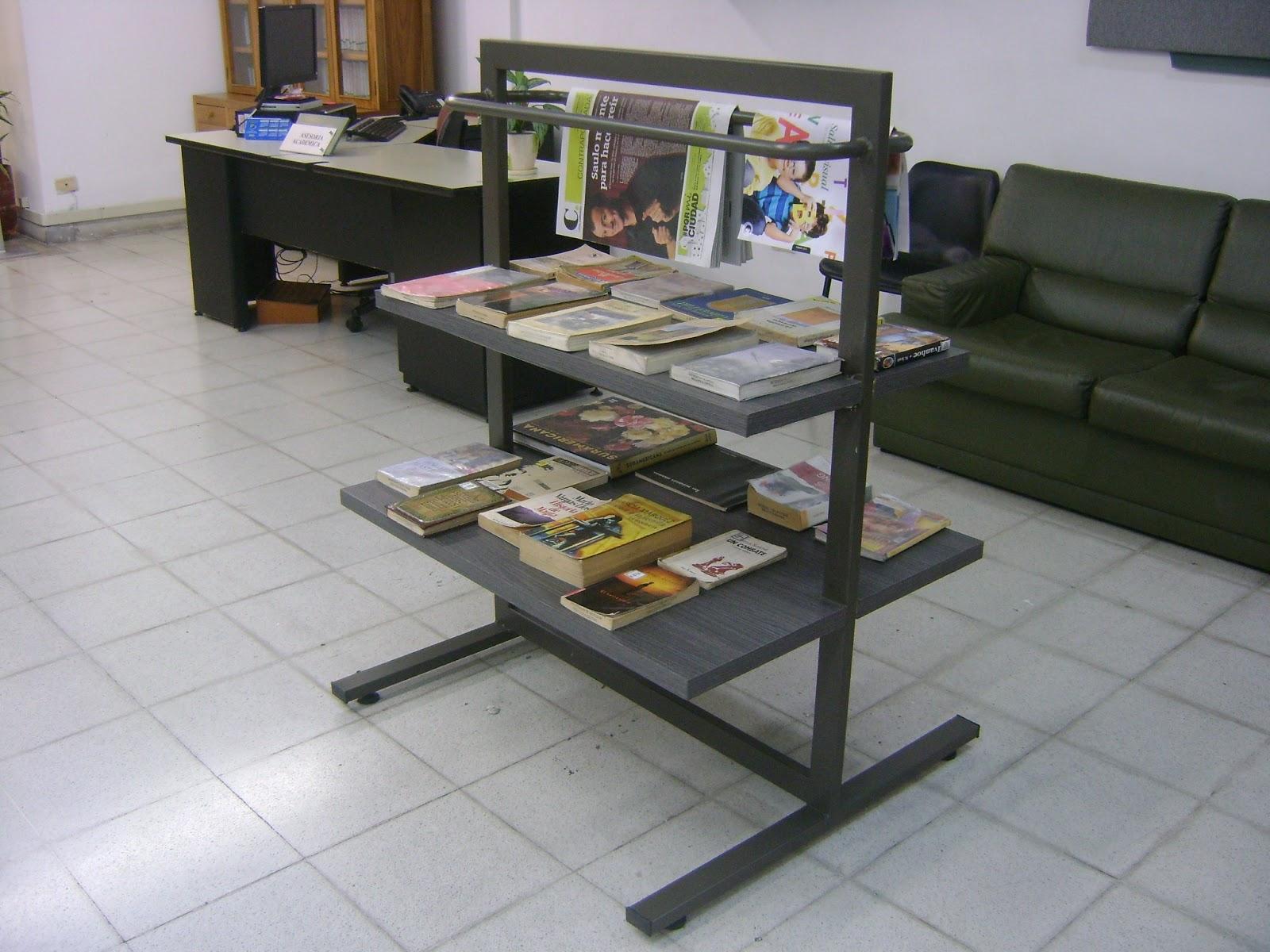 Se al ticas para bibliotecas oficinas instituciones for Pedestales metalicos para mesas