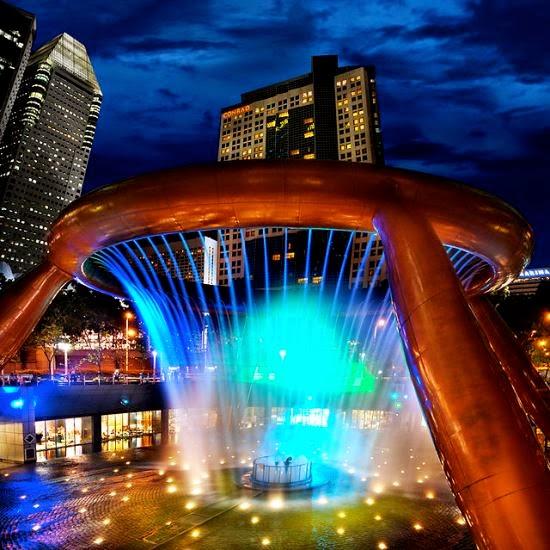 Fuente de la Riqueza, Suntec City (Singapur)