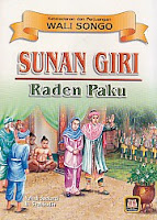 toko buku rahma: buku SUNAN GIRI (Raden Paku), pengarang yuliadi soekardi, penerbit pustaka setia
