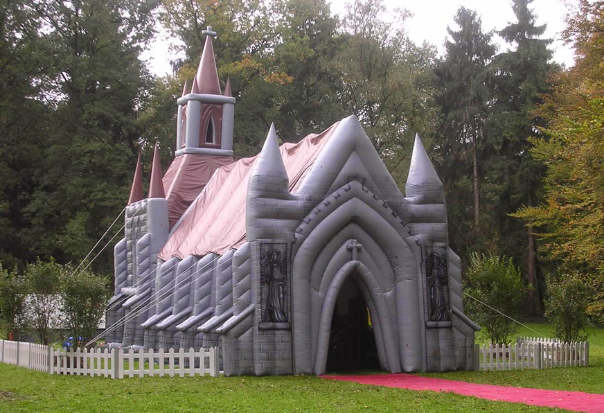 Inflatable Church photo
