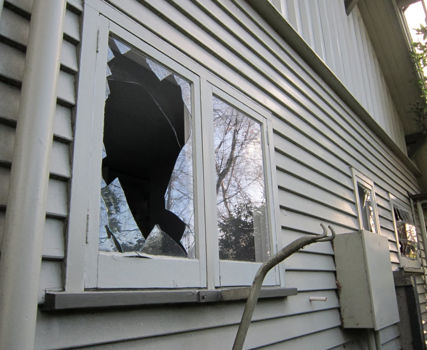 Broken House Window Repair