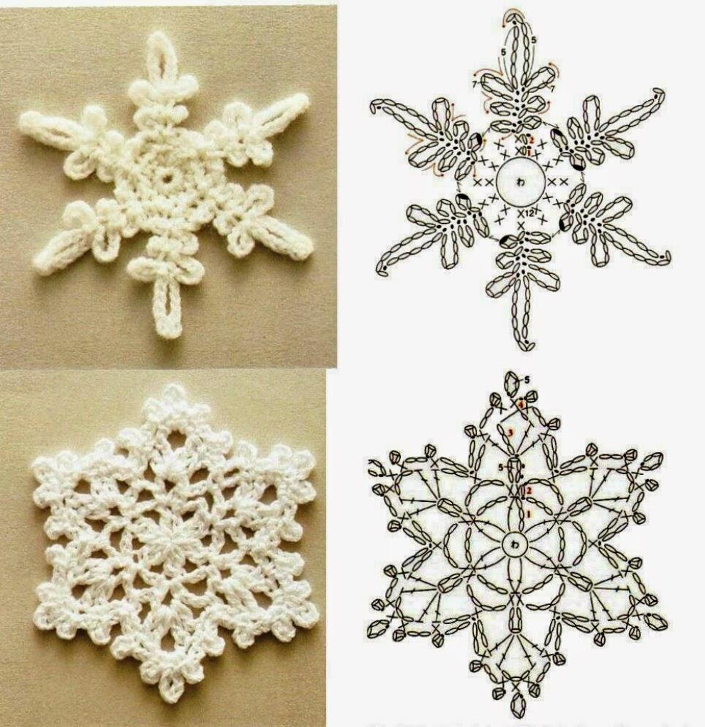 Вяжем ажурные снежинки, украшаем свой интерьер к Новому году! - Страна Мам