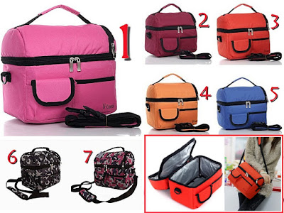 FREE Cooler Bag V-Cool Original (7 pilihan warna)