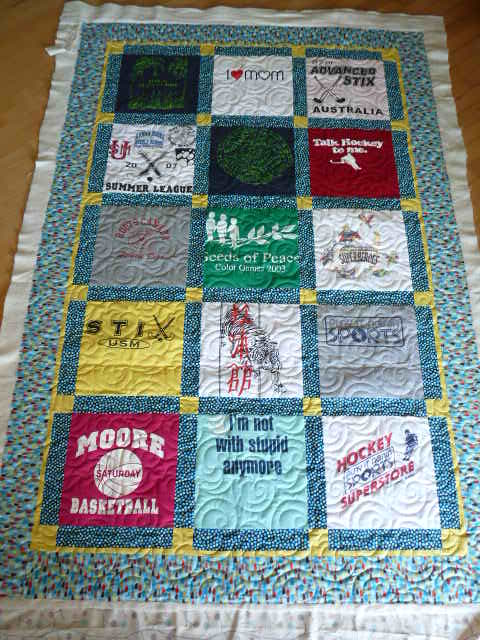 Sewing Quilt Gallery T Shirt Quilts