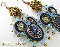 Soutache Earrings - Regina del Mare